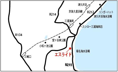 エスライド地図