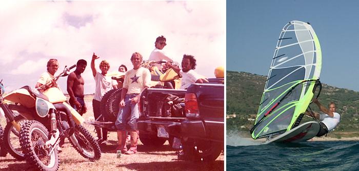 Guam 1984_Monty with Mike Waltze & Matt Schweitzer|Monty Spindler