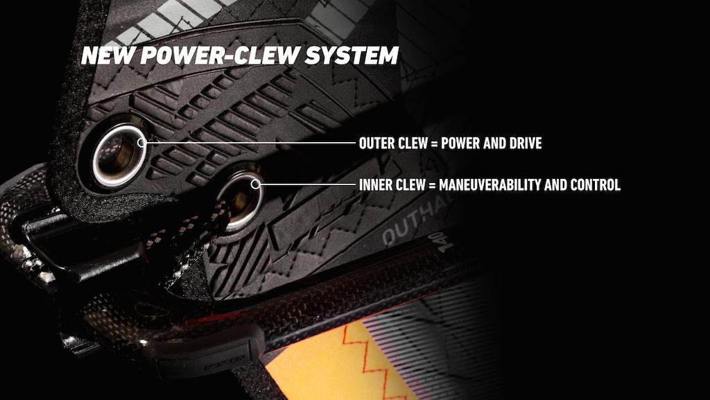 上下のクリューを使い分けることでチューニングの幅が広がる『ニュー・パワー・クリュー・システム』 上 / アウタークリュー=for パワー&ドライブ  下 / インナークリュー=for マニューバビリティ&コントロール