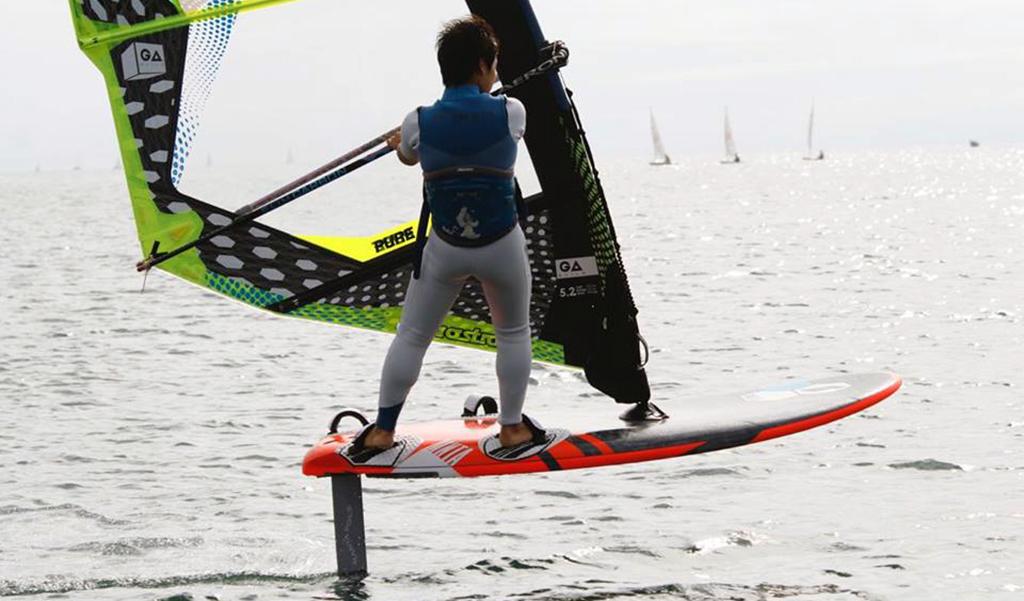 スタビライザーの調整で強風でも安定した浮遊