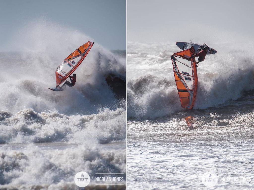 ▲IWT 2018『Morocco Spot X』Youth Winner, Takara Ishii(J-20)/ ⒸIWT_Nick Jones ※IWT=International Windsurfing Tour その名の通り世界のグッドスポットでウインドサーフィンの大会を主催し、選手に活躍の舞台を提供している団体。PWA(Professional Windsurfers Association)とも良好な関係にあり、例えばマウイで行われる『アロハ・クラシック』などにおいては、両団体が連携・協力して大会を成功させている。その前身であるAWT(American Windsurfing Tour)が設立されたのが2010年と、まだ歴史が浅いため日本での知名度は高いとは言えないが、世界では、特に選手のあいだでは、IWTの大会は「もうひとつのワールドカップ」として広く認知されている。