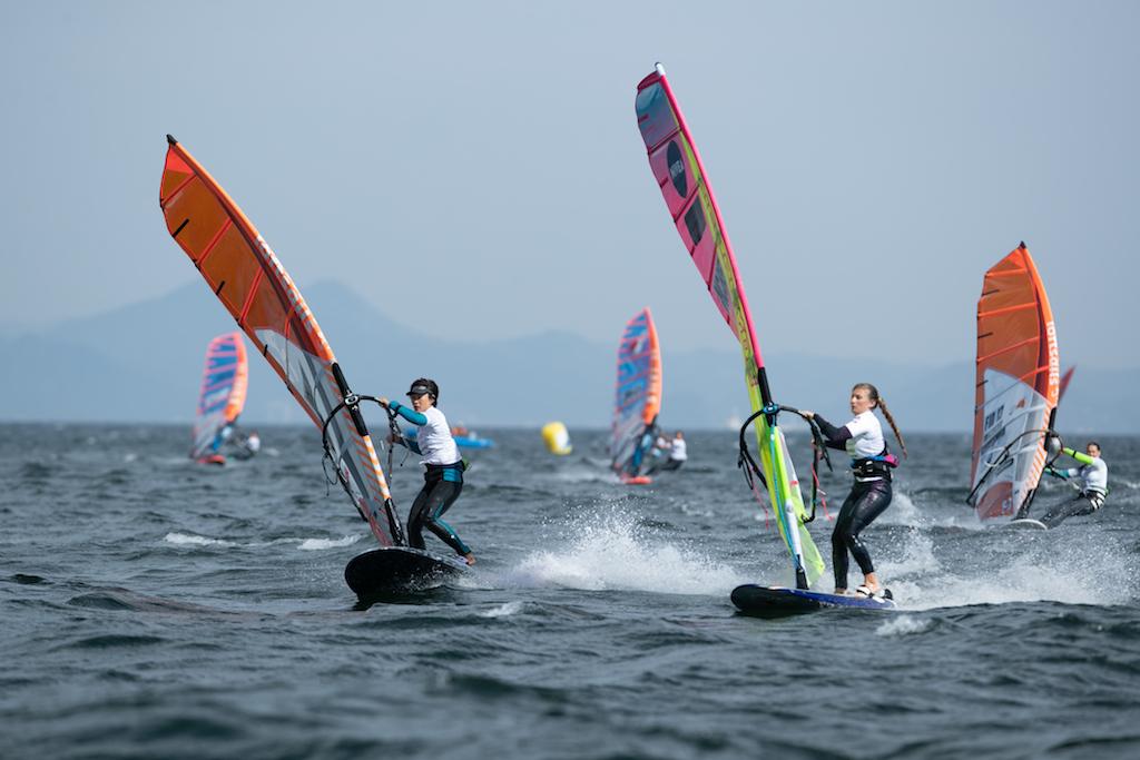 Yuki Sunaga(JPN-470)@ Fly! ANA Windsurfing World Cup Yokosuka Japan 2018 / ⒸAkihiko Harimoto