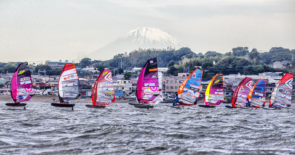 FOIL_Fly! ANA Windsurfing World Cup Yokosuka Japan 2018 / Ⓒ pwaworldtour.com_John Carter