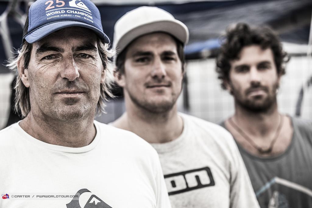 Slalom Big 3=Antoine Albeau / Pierre Mortefon / Matteo Iachino