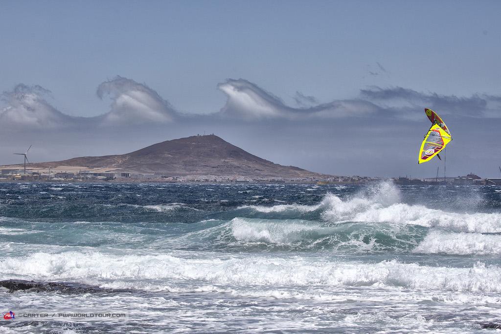 "Photo by John Carter_pwaworldtour.com Rider_Marcilio ""Brawzinho"" Browne(BRA-105)/ Pozo, Gran Canaria July 2019"