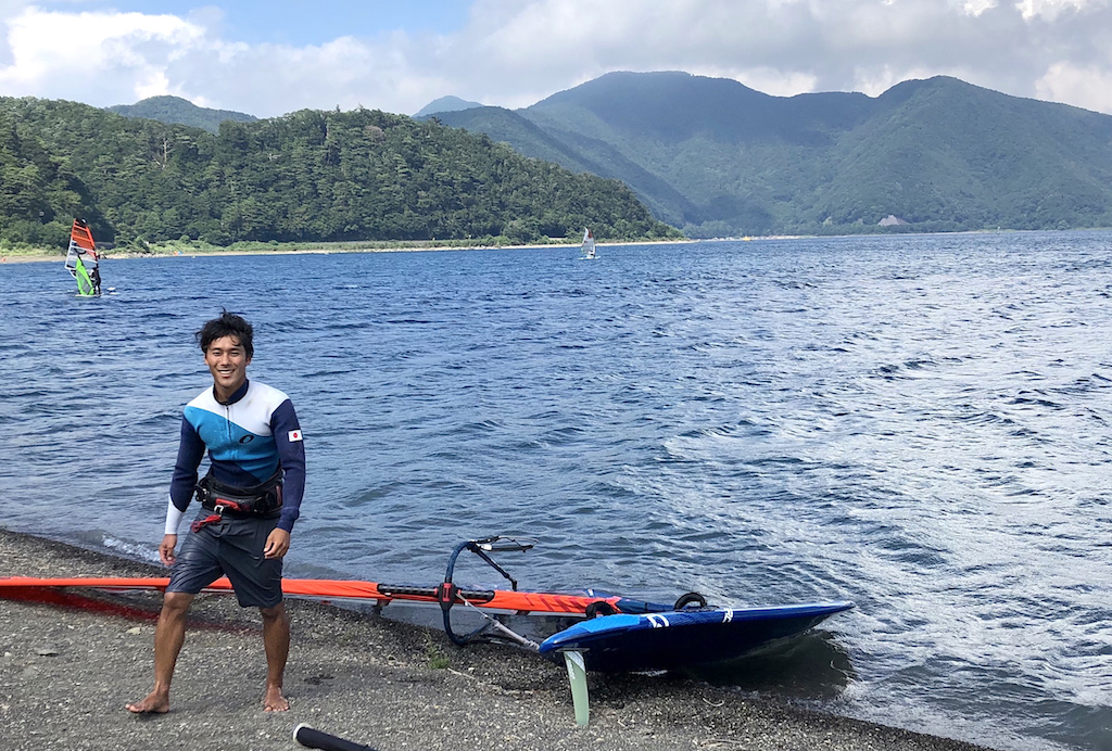 Yuma Kobayashi(J-100)Lake Motosu, Yamanashi, August 8, 2019