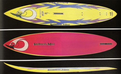 "Sailboards Maui 1994 Custom_Expert Wave SVF 8'3""(253×51×9cm)"