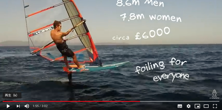 Foiling for Everyone_From Starboard video clips_The Future is Right Now!