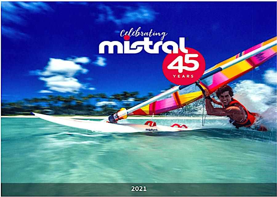 Mistral 45th Anniversary Calendar 2021