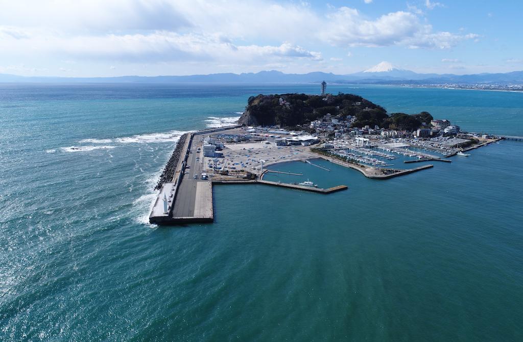 2020 Tokyo Olympic Windsurfing Racing Site, Enoshima, Kanagawa / ⒸTetsuya Satomura
